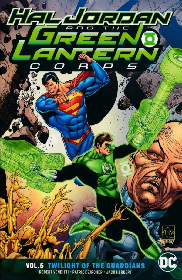 HAL JORDAN AND THE GREEN LANTERN CORPS VOL 05 TWILIGHT OF THE GUARDIANS SC