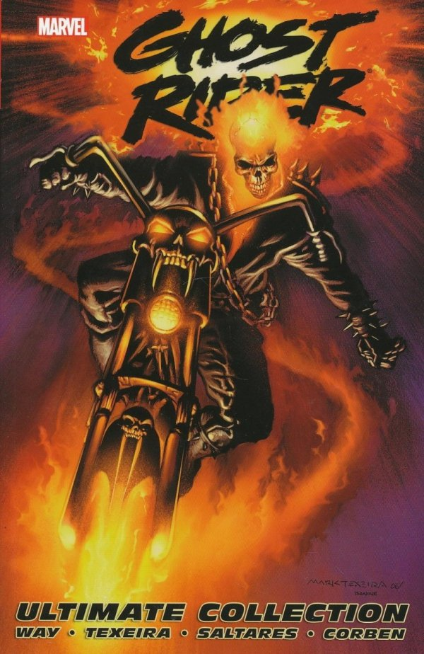 GHOST RIDER BY DANIEL WAY THE COMPLETE COLLECTION SC (OLD EDITION) *