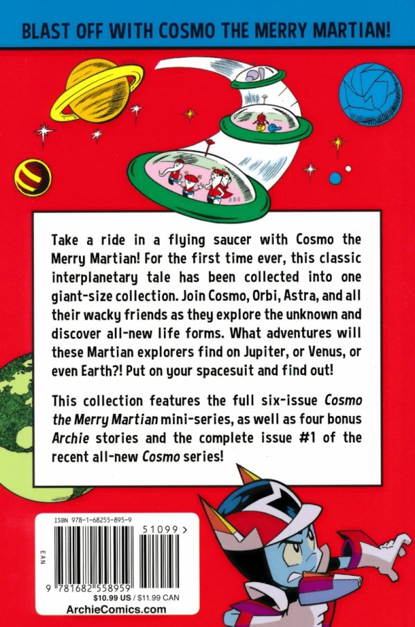 COMPLETE COSMO THE MERRY MARTIAN SC