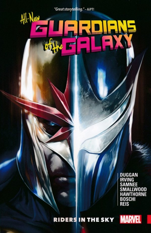 ALL NEW GUARDIANS OF GALAXY TP VOL 02 RIDERS IN SKY