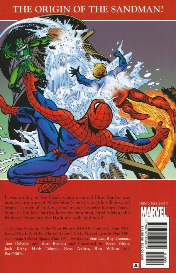 SPIDER-MAN SAGA OF THE SANDMAN SC