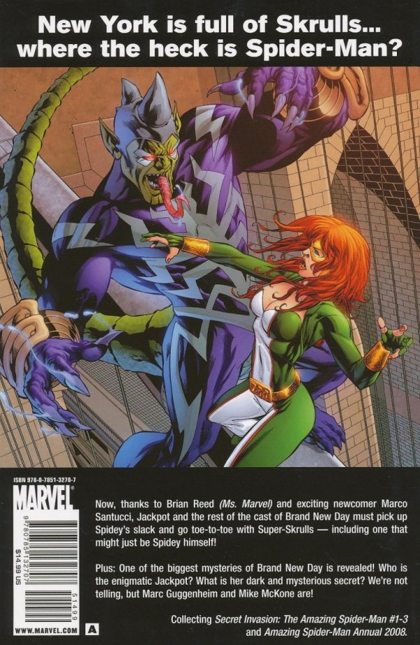 SECRET INVASION TP AMAZING SPIDER-MAN