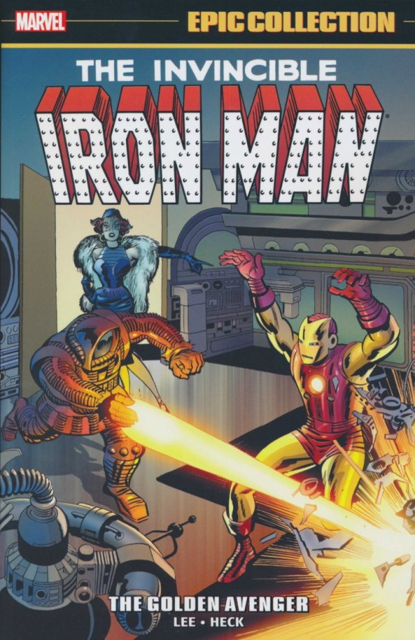 IRON MAN EPIC COLLECTION TP GOLDEN AVENGER NEW PTG