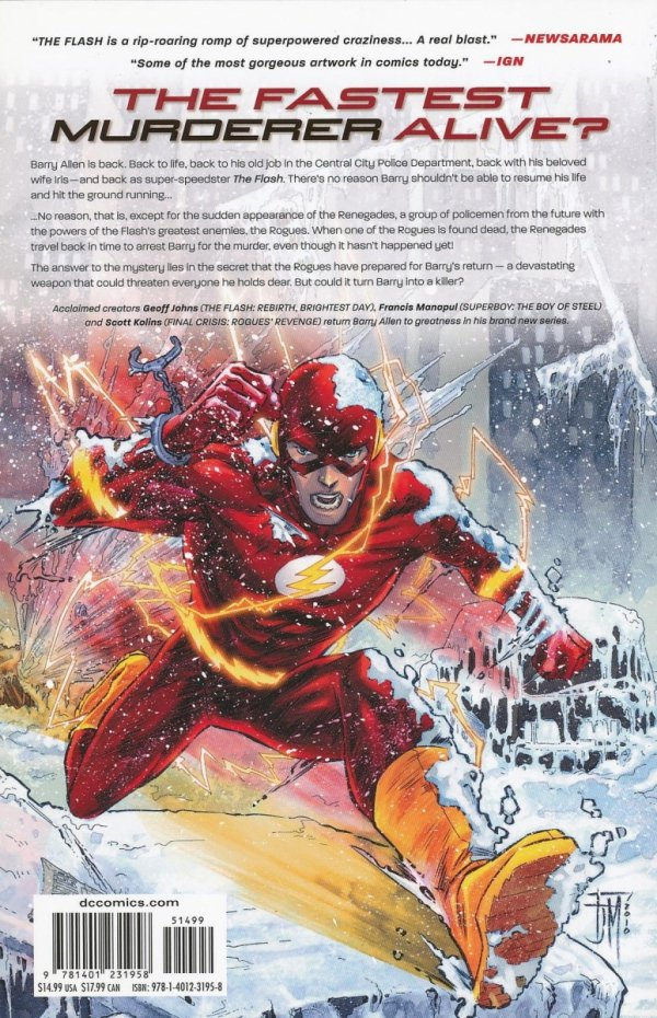FLASH THE DASTARDLY DEATH OF THE ROGUES SC