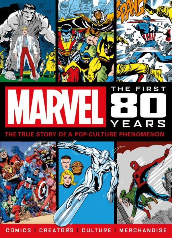 MARVEL COMICS FIRST 80 YEARS SC NEWSTAND *