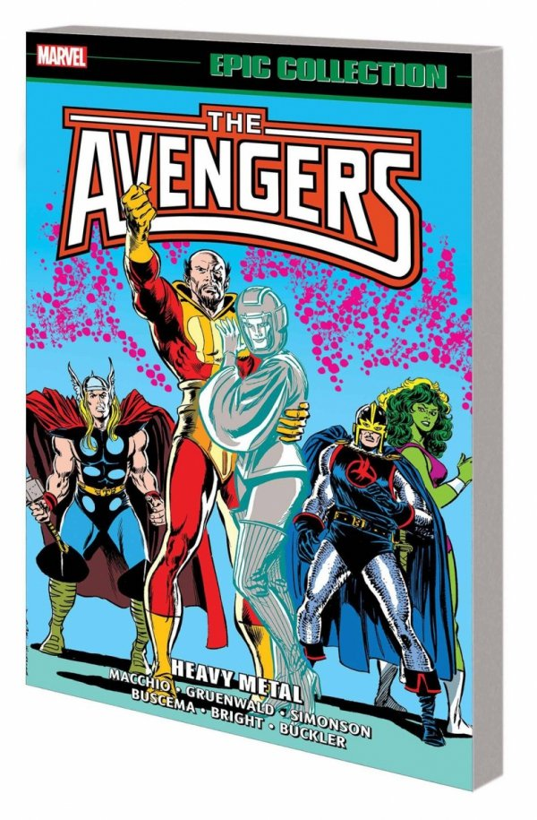 AVENGERS EPIC COLLECTION HEAVY METAL SC *