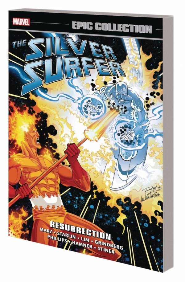 SILVER SURFER EPIC COLLECTION RESURRECTION SC *