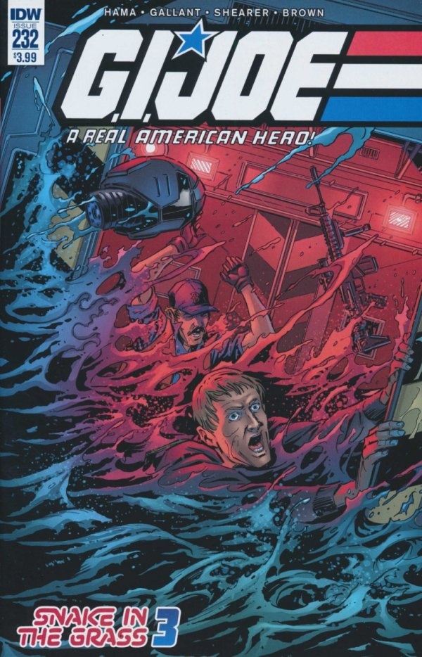 GI JOE A REAL AMERICAN HERO #232