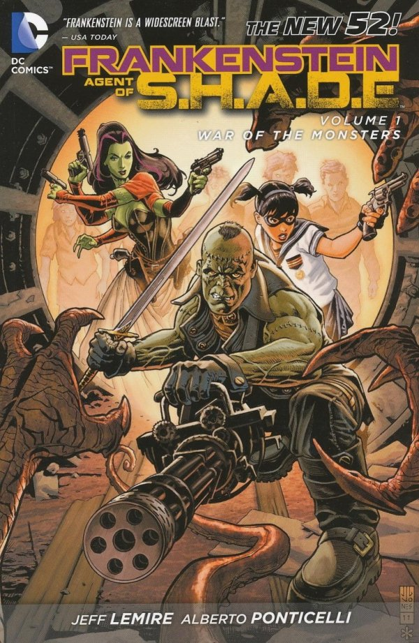 FRANKENSTEIN AGENT OF SHADE VOL 01 WAR OF THE MONSTERS SC