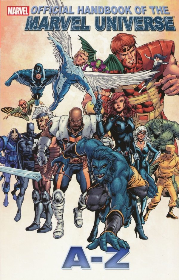 OFFICIAL HANDBOOK OF THE MARVEL UNIVERSE A TO Z VOL 01 SC