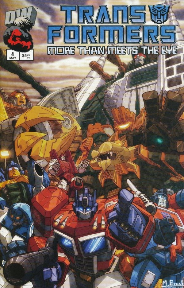 TRANSFORMERS MORE THAN MEETS EYE OFFICIAL GUIDE #4
