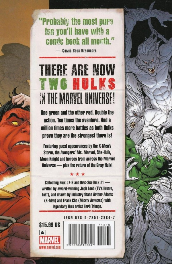 HULK VOL 02 RED AND GREEN SC