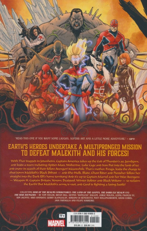 WAR OF THE REALMS STRIKEFORCE SC