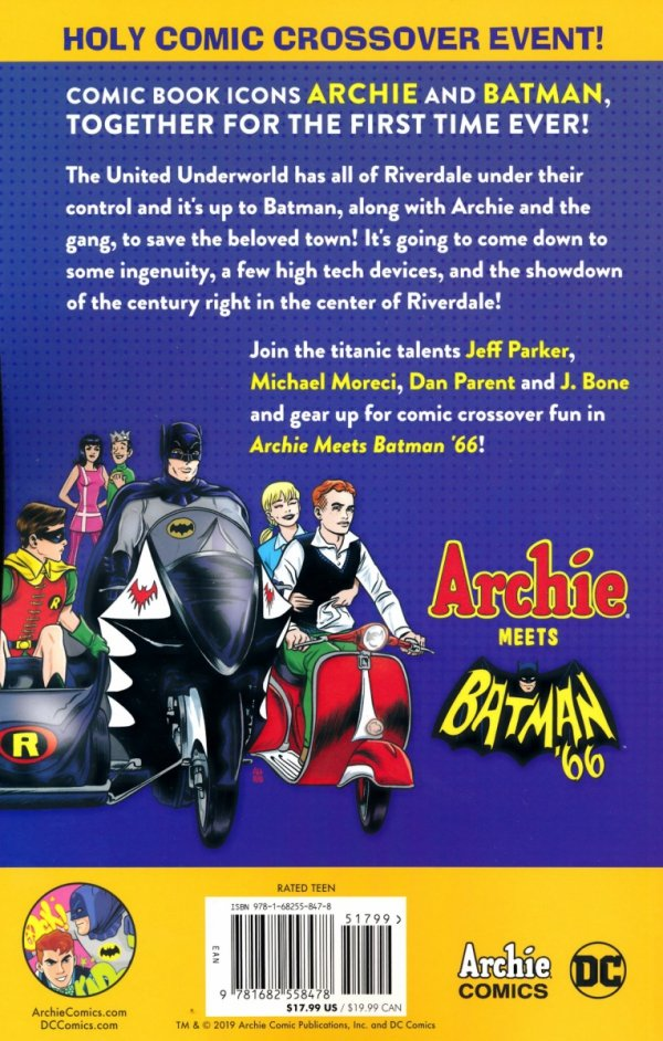 ARCHIE MEETS BATMAN 66 SC