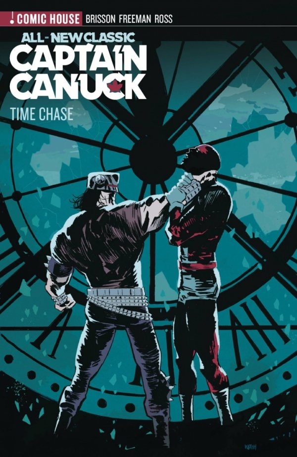 ALL NEW CLASSIC CAPTAIN CANUCK VOL 01 TIME CHASE