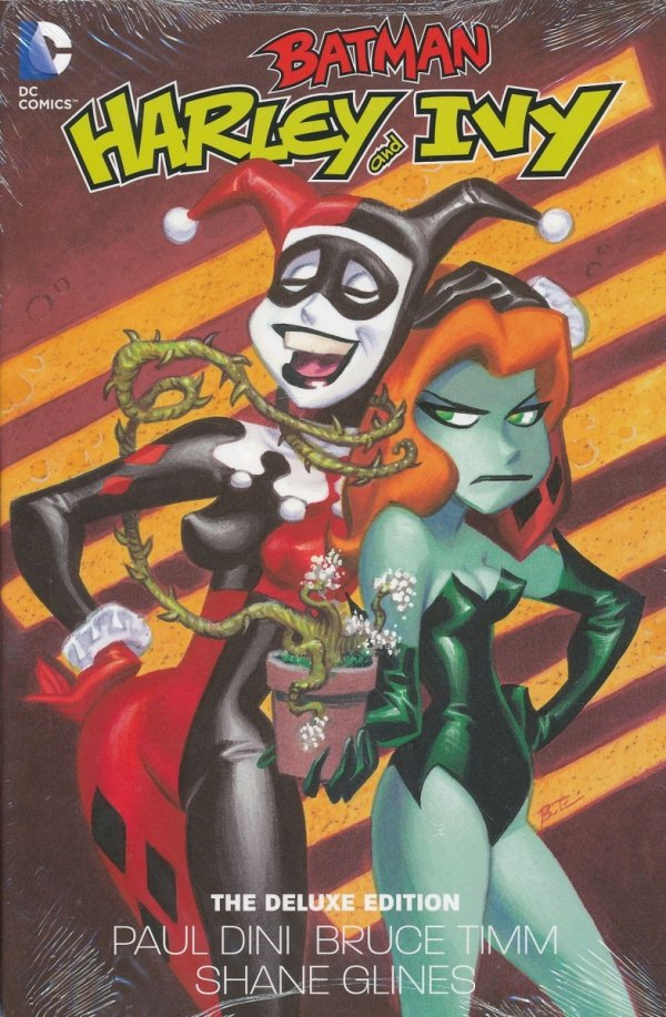 BATMAN HARLEY AND IVY DELUXE EDITION HC
