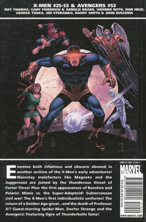 ESSENTIAL CLASSIC X-MEN VOL 02 SC