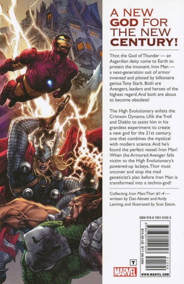 THOR IRON MAN GOD COMPLEX SC