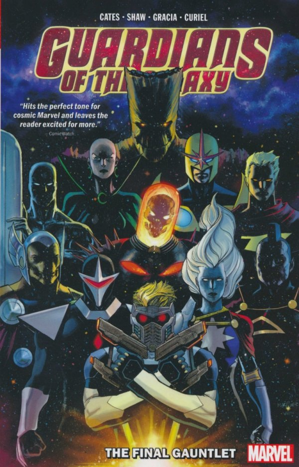 GUARDIANS OF THE GALAXY VOL 01 THE FINAL GAUNTLET SC **