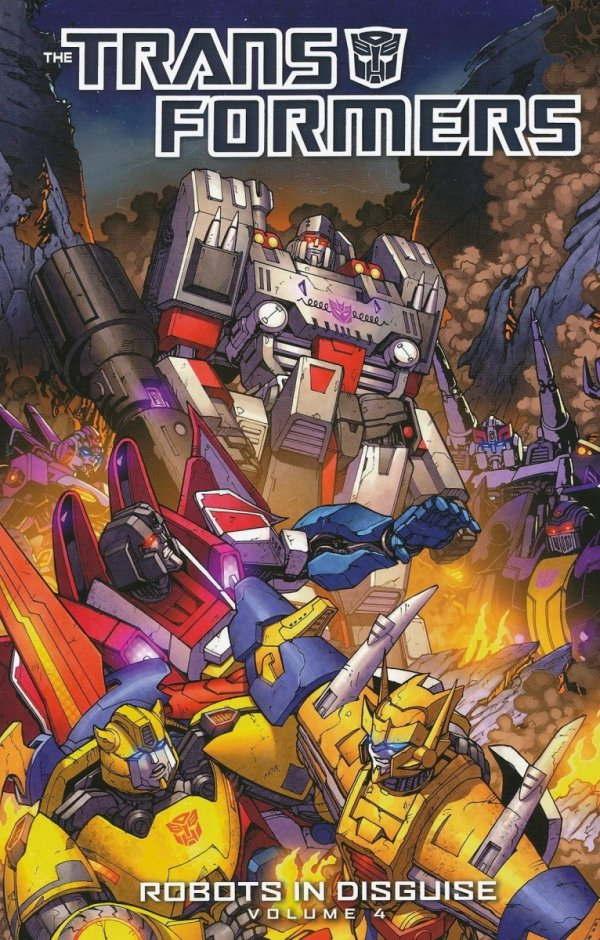 TRANSFORMERS ROBOTS IN DISGUISE TP VOL 04