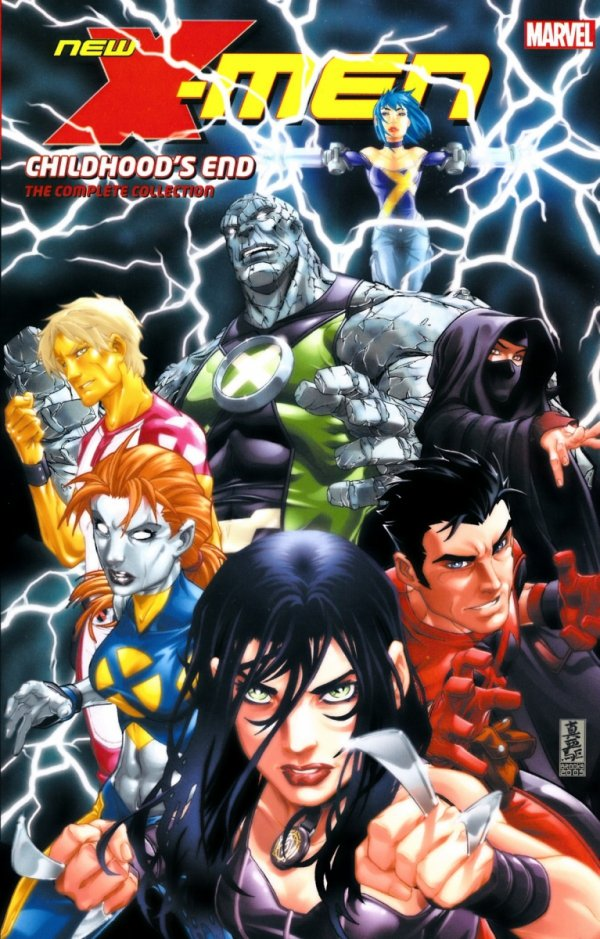 NEW X-MEN CHILDHOODS END TP COMPLETE COLLECTION