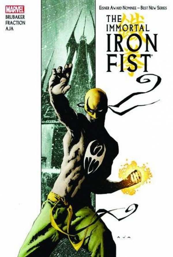 IMMORTAL IRON FIST BY FRACTION BRUBAKER AND AJA OMNIBUS HC *