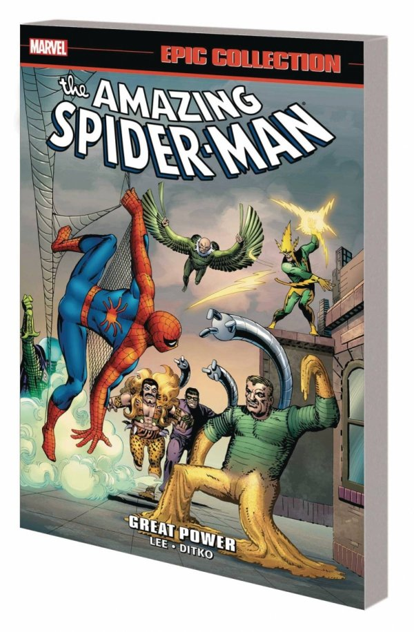 AMAZING SPIDER-MAN EPIC COLLECTION GREAT POWER SC (NEW EDITION) *