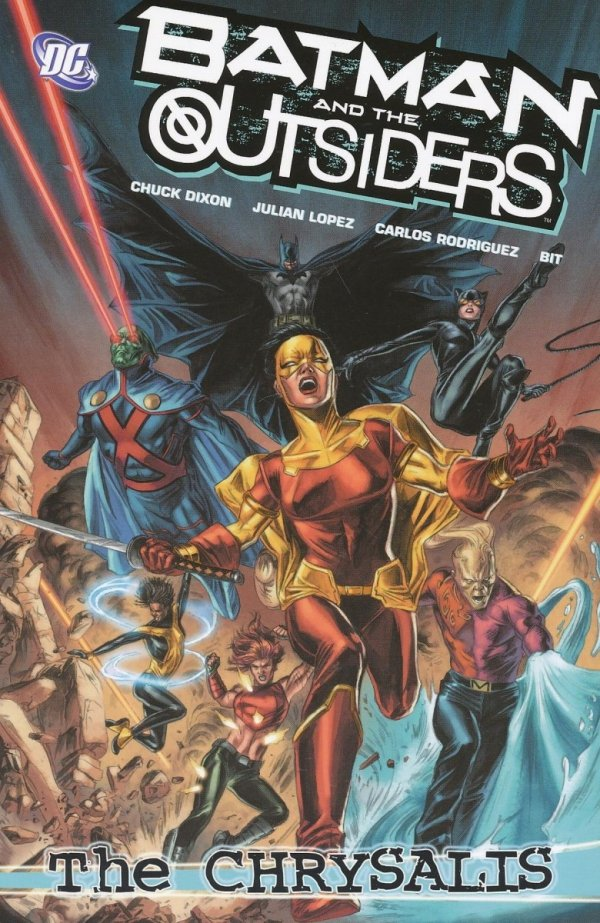 BATMAN AND THE OUTSIDERS VOL 01 THE CHRYSALIS SC