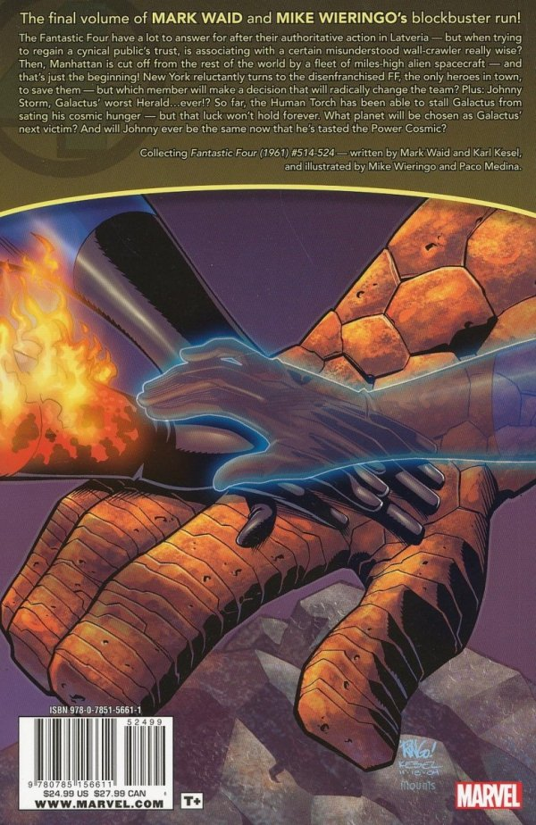 FANTASTIC FOUR ULTIMATE COLLECTION VOL 04 SC
