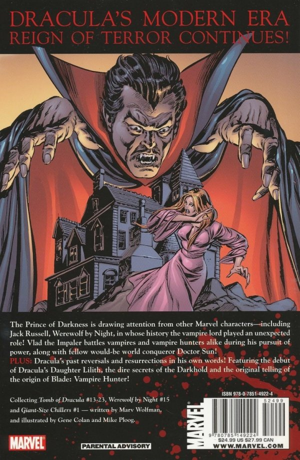 TOMB OF DRACULA VOL 02 SC