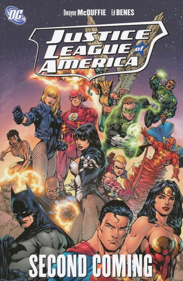 JUSTICE LEAGUE OF AMERICA SECOND COMING SC