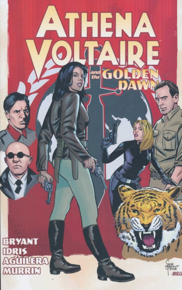 ATHENA VOLTAIRE VOL 03 AND THE GOLDEN DAWN SC