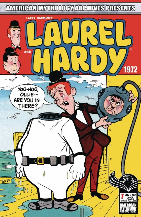 AM ARCHIVES LAUREL AND HARDY 1972 #1 CVR A CLASSIC (PREORDER) *