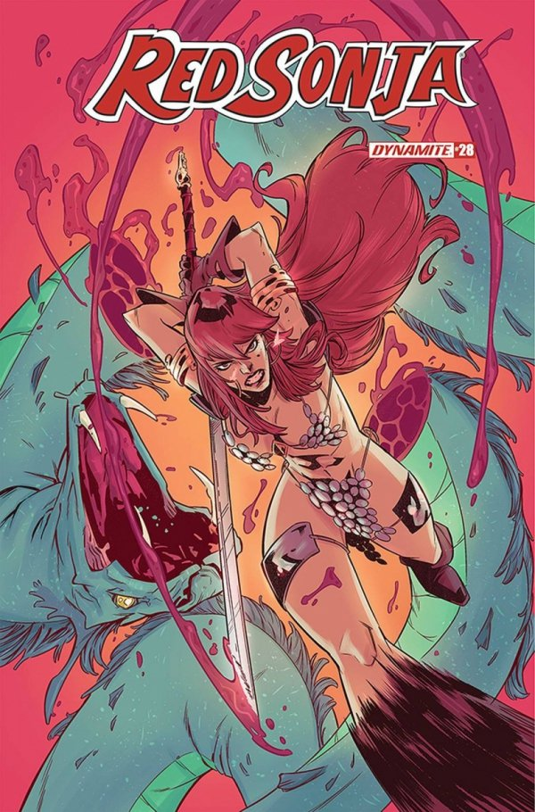 RED SONJA #28 CVR D MIRACOLO