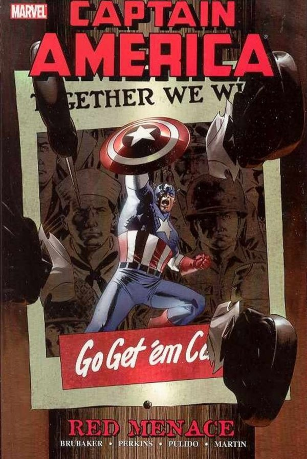 CAPTAIN AMERICA RED MENACE VOL 01 SC **