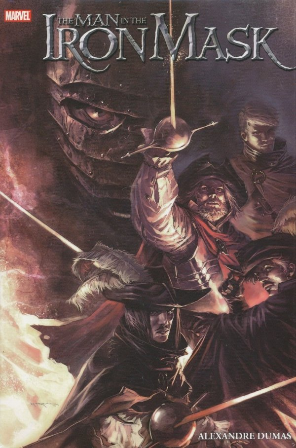 MARVEL ILLUSTRATED THE MAN IN THE IRON MASK HC