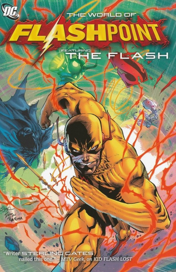 FLASHPOINT THE WORLD OF FLASHPOINT FEATURING THE FLASH SC