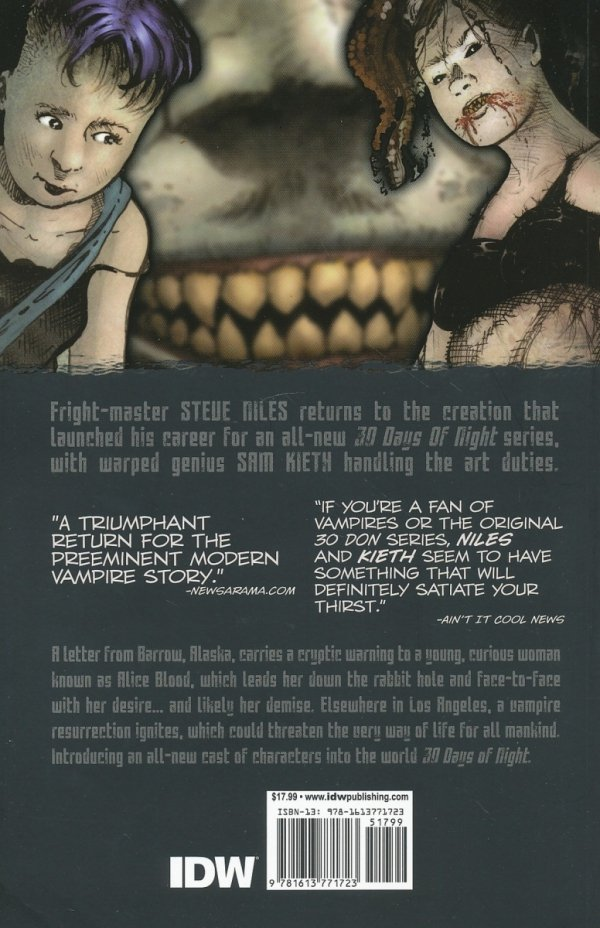 30 DAYS OF NIGHT ONGOING TP VOL 01