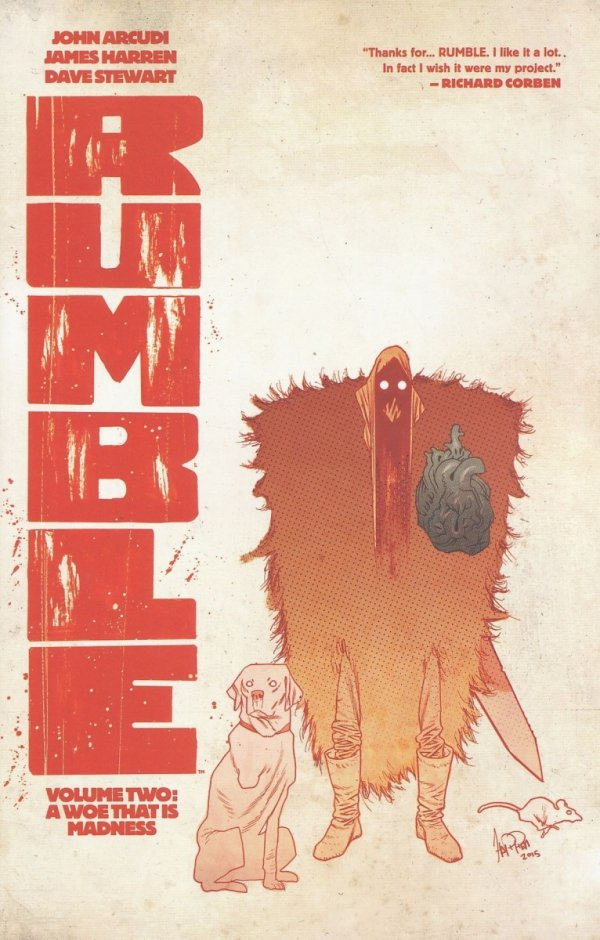 RUMBLE VOL 02 A WOE THAT IS MADNESS SC