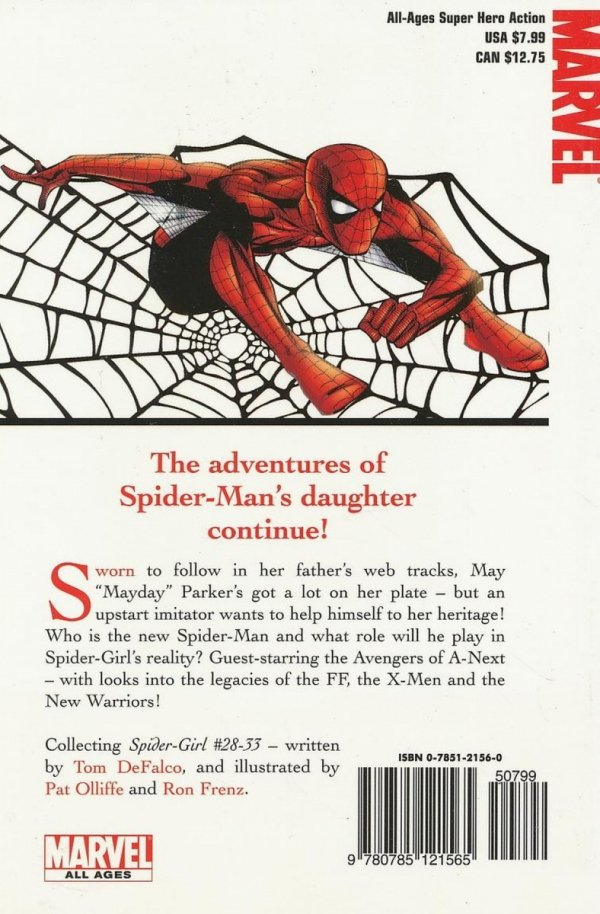 SPIDER-GIRL TP VOL 06 TOO MANY SPIDERS DIGEST