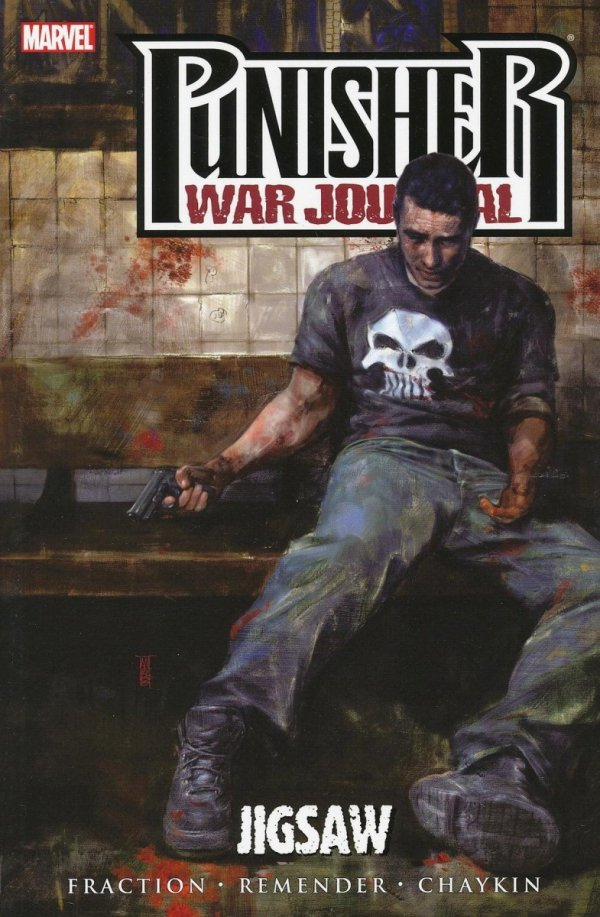 PUNISHER WAR JOURNAL VOL 04 JIGSAW SC
