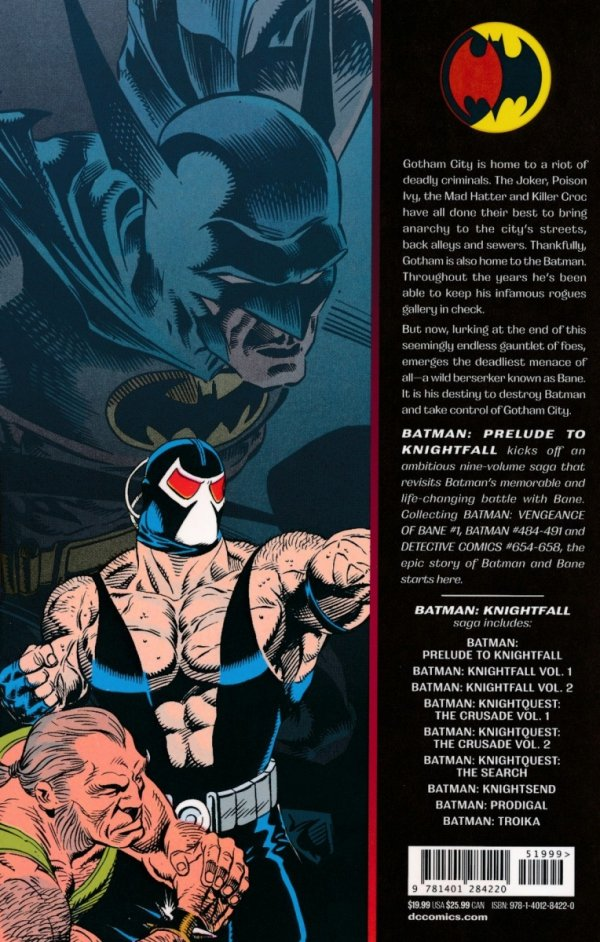 BATMAN PRELUDE TO KNIGHTFALL SC