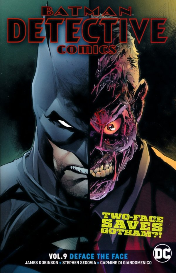 BATMAN DETECTIVE COMICS VOL 09 DEFACE THE FACE SC