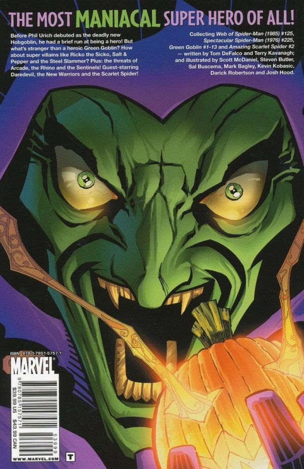 GREEN GOBLIN A LIGHTER SHADE OF GREEN TP