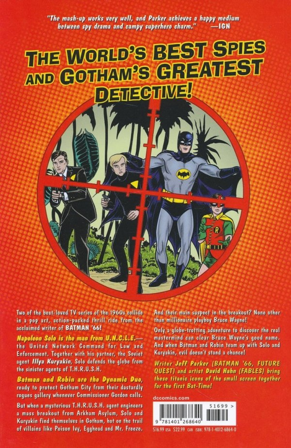 BATMAN 66 MEETS THE MAN FROM UNCLE SC