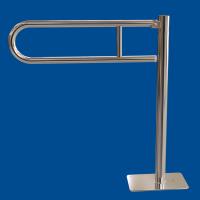Uchwyt Uchylny WC Wolnostojący dla Niepełnosprawnych 50cm stal nier fi25