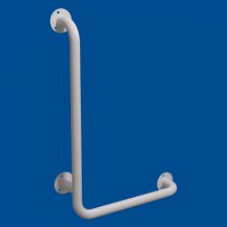 Uchwyt Kątowy dla Niepełnosprawnych lewy 60/40cm biały fi32
