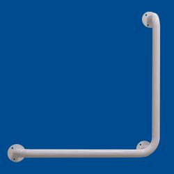 Uchwyt Kątowy dla Niepełnosprawnych 70/70cm biały fi32
