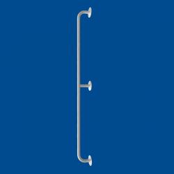 Uchwyt Prosty dla Niepełnosprawnych 130 cm biały fi25