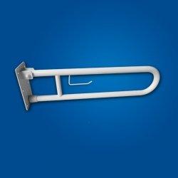 Uchwyt Uchylny WC 60cm ZAW. na PAP biały fi32 dla niepełnosprawnych